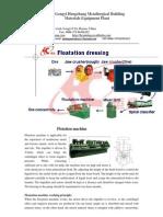Flotation machine china