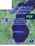 Regional Environmental Corridors September 2005 (unprotected)