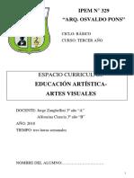 Cuadernillo de tercer añoArtes Visuales 2018 (1).pdf