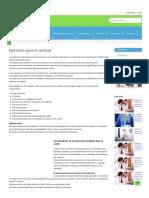 Ejercicios para la cervical, mareos, columna, rectificada, yoga y con artrosis.pdf