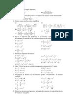 polinomios fracciones algebraicas básico