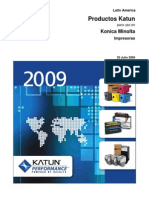 Katun_Catalog_for_Konica_Minolta_Printers-Latin_America-July_2009