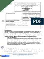 Guía de aprendizajes del estudiante Matemática 13 Las Fracciones trabajo en equipo pdf