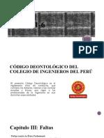 Deontología en ingeniería civil