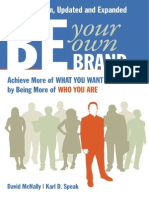 Be Your Own Brand - Introduction