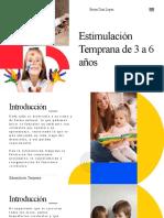 Estimulación Temprana de 3 a 6 años