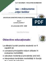 LP 7 - Morbiditate - masurarea frecventei bolii