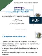 LP 9 - Epidemiologie 2. Epidemiometrie