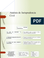 Análisis de jurisprudencia civil