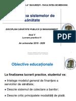 LP 11 - Finanțarea sistemelor de sănătate