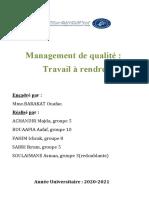 Processus Écoute & satisfaction client