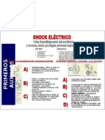 CARTEL SHOCK ELECTRICO