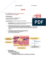 5- Dermatologie - Acné
