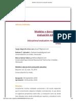 Modelos y épocas de la evaluación educativa