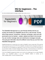 RabbitMQ for beginners - The management interface