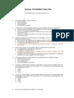 Practice Test - fs ratio MC