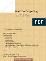 IR & Collective Bargaining