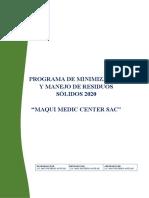 PROGRAMA DE MINIMIZACIÓN- MAQUI MEDIC 2020 (1).docx