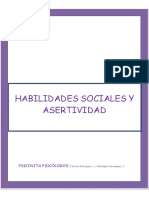 HABILIDADES SOCIALES Y ASERTIVIDAD- PSICOVITA