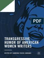 Transgressive Humor of American Women Writers - Sabrina Fuchs.pdf