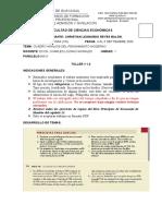 Taller 1.2. Ejercicios Resumen - Mankiw