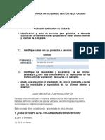 ACTIVIDAD 4 FUNDAMENTACIÓN DE UN SISTEMA DE GESTIÓN DE LA CALIDAD