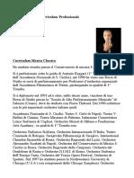 Curriculum Remo D'Ippolito