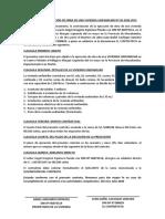 CONTRATO DE EJECUCIÓN DE OBRA DE UNA VIVIENDA UNIFAMILIAR Nº 30