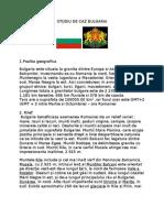 STUDIU DE CAZ BULGARIA
