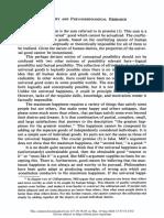 stuart Mill's Argument for the Principle of Utilitariansm