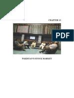 Economics Ch 13. Pak Stock Market