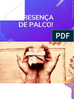 Workshop Presença de Palco - Tchella