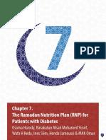 Ramadhan Nutrititional Plan IDF-DAR Guideline 2016