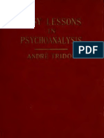 Andre Tridon_Easy lessons in psyhoanalysis
