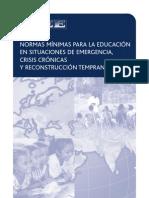INEE_Normas Minimas Para La Educacion en Situaciones de cia