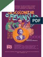 ANAIS - Descolonizar o Feminismo