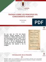 Tratado sobre los principios del conocimiento humano - Exposición
