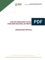 Guía de Operación Prototipos 2021