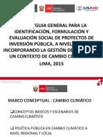 1.- MARCO CONCEPTUAL CAMBIO CLIMATICO