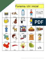 Anexo 5 Bingo +5 años fonema ch