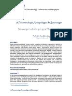 A Fenomenologia Antropológica de Binswanger
