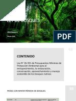 Ley de Bosques Argentina