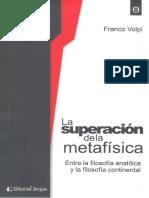 5. Volpi - La superacion de la metafisica.pdf