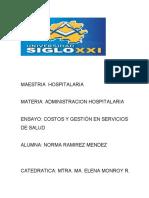 COSTOS Y GESTION EN SERVICIOS DE SALUD (1)