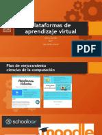 Plataformas de aprendizaje virtual