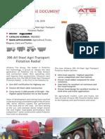 Alliance 390 All Steel Agri-Transport Flotation Radial