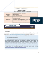 Instrução da Uninter Portfólio - B-I