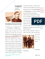 Reading #1 on A Closer a Look at Rizal - Annotated by