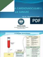 Clase N°13 - FISIOLOGÍA CARDIOVASCULAR I - SANGRE (1)