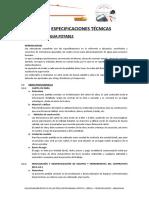 12.1Especificaciones Tecnicas AGUA OK